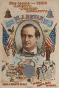 Political:Posters & Broadsides (1896-present), William Jennings Bryan: Perhaps THE Classic American Political Poster....