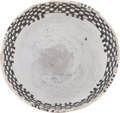 American Indian Art:Pottery, A MESA VERDE BLACK-ON-WHITE BOWL. c. 1200 - 1300 A. D....