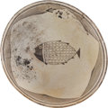 American Indian Art:Pottery, A MIMBRES BLACK-ON-WHITE BOWL. c. 1000 - 1200 A. D....