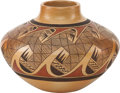 American Indian Art:Pottery, A HOPI POLYCHROME JAR. Tonita Nampeyo. c. 1975...