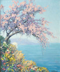 Fine Art - Painting, European:Modern  (1900 1949)  , RAYMOND THIBESART (French, 1874-1968). Printemps. Oil oncanvas. 24 x 20 inches (61.0 x 50.8 cm). Signed lower right:...