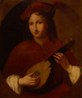 Paintings, PROPERTY FROM THE WICHITA CENTER FOR THE ARTS. After TITIAN (TIZIANO VECELLI) (Italian, 1485-1576). Portrait of a Ma...