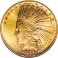 Indian Eagles, 1911 $10 MS67 NGC....