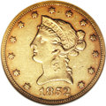 Liberty Eagles, 1852-O $10 AU53 NGC....