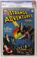 Golden Age (1938-1955):Science Fiction, Strange Adventures #4 (DC, 1951) CGC VF+ 8.5 Cream to off-whitepages. Chris KL-99 is the featured character in this sci-fi ...