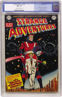 Strange Adventures #9 (DC, 1951) CGC NM+ 9.6 Off-white to white pages