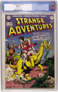 Golden Age (1938-1955):Science Fiction, Strange Adventures #12 (DC, 1951) CGC NM- 9.2 Off-white to whitepages. Gil Kane drew this issue's colorful cover featuring ...