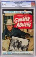 Golden Age (1938-1955):Western, Fawcett Movie Comic #7 Gunmen of Abilene - Vancouver pedigree(Fawcett, 1950) CGC NM 9.4 White pages....
