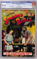 Golden Age (1938-1955):Religious, Picture Stories from the Bible New Testament Edition #1 Vancouver pedigree (DC, 1944) CGC NM 9.4 White pages....