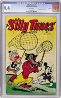 Golden Age (1938-1955):Funny Animal, Silly Tunes #1 Vancouver pedigree (Timely, 1945) CGC NM 9.4 Whitepages....