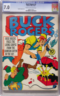 Golden Age (1938-1955):Science Fiction, Buck Rogers #3 (Eastern Color, 1941) CGC FN/VF 7.0 Cream to off-white pages....