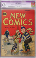 Platinum Age (1897-1937):Miscellaneous, New Comics #3 (DC, 1936) CGC Apparent FN+ 6.5 Slight (A) Cream tooff-white pages....