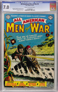 Golden Age (1938-1955):War, All-American Men of War #6 (DC, 1953) CGC FN/VF 7.0 Cream tooff-white pages....