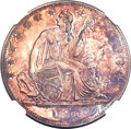 Gobrecht Dollars, 1839 P$1 Name Omitted, Judd-105 Restrike, Pollock-117, Low R.7,PR65 NGC....