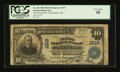 National Bank Notes:Maryland, Cumberland, MD - $10 1902 Plain Back Fr. 625 The Second NB Ch. #1519. ...