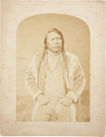 American Indian Art:Photographs, OURAY. c. 1867...