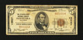 National Bank Notes:Oklahoma, Pawhuska, OK - $5 1929 Ty. 1 The Citizens-First NB Ch. # 13527. ...