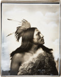 American Indian Art:Photographs, GOOD BIRD and GOES TO WAR. c. 1898... (Total: 2 Items)