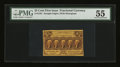 Fractional Currency:First Issue, Fr. 1281 25¢ First Issue PMG About Uncirculated 55....