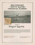Transportation:Aviation, Wright Brothers Kitty Hawk Plane Relic....
