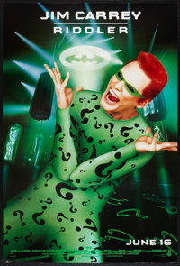 """Batman Forever (Warner Brothers, 1995). One Sheets (3) (27"""" X 40"""") SS Advances Two-Face, Dr. Chase Meridian, R..."""