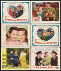 "Movie Posters:Comedy, Skylark Lot (Paramount, 1941). Lobby Cards (6) (11"" X 14"").Comedy.. ... (Total: 6 Items)"