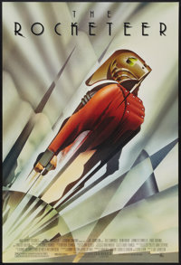 "The Rocketeer (Touchstone, 1991). One Sheet (27"" X 40"") DS. Action"