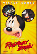 "Movie Posters:Animated, Runaway Brain (Buena Vista, 1995). One Sheet (27"" X 40"") DS. Animated.. ..."