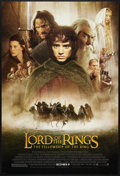 "Movie Posters:Fantasy, The Lord of the Rings: The Fellowship of the Ring (New Line, 2001). One Sheet (27"" X 40"") DS Advance Style D. Fantasy.. ..."