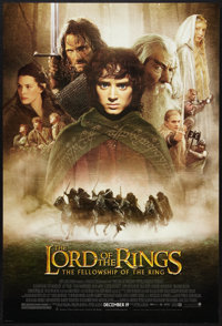 """The Lord of the Rings: The Fellowship of the Ring (New Line, 2001). One Sheet (27"""" X 40"""") DS Advance Style D..."""