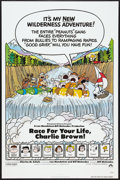 "Movie Posters:Animated, Race for Your Life, Charlie Brown (Paramount, 1977). One Sheet (27""X 41"") Flat Folded. Animated.. ..."