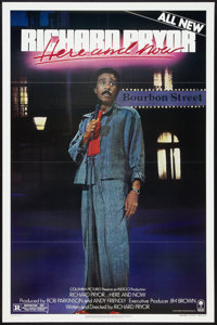 """Richard Pryor: Live in Concert Lot (Warner Brothers, 1979). One Sheets (3) (27"""" X 41"""") Styles A and B and Post..."""