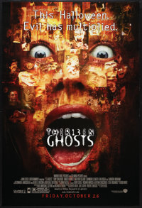 """13 Ghosts Lot (Warner Brothers, 2001). One Sheets (2) (27"""" X 40"""") DS Advance. Horror. ... (Total: 2 Items)"""
