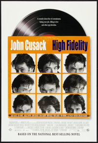 "High Fidelity (Buena Vista, 2000). One Sheet (27"" X 40"") DS. Comedy"