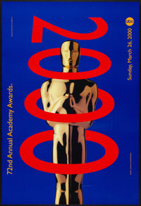 """Academy Awards Poster (AMPAS, 2000). One Sheet (26.75"""" X 39.5""""). Miscellaneous"""