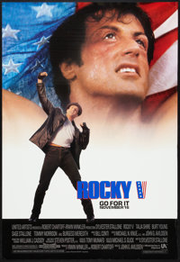 """Rocky V (MGM/UA, 1990). One Sheets (3) (27"""" X 40"""") DS and SS Regular and Advance. Sports. ... (Total: 3 Item)"""
