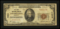 National Bank Notes:Missouri, Golden City, MO - $20 1929 Ty. 1 The First NB Ch. # 7684. ...