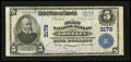 National Bank Notes:Colorado, Greeley, CO - $5 1902 Plain Back Fr. 598 The First NB Ch. # 3178....