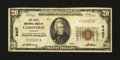 National Bank Notes:Missouri, Cainesville, MO - $20 1929 Ty. 1 The First NB Ch. # 8407. ...