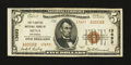 National Bank Notes:Arkansas, Mena, AR - $5 1929 Ty. 2 The Planters NB Ch. # 13693. ...