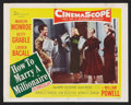 """Movie Posters:Comedy, How to Marry a Millionaire (20th Century Fox, 1953). Lobby Card(11"""" X 14""""). Comedy.. ..."""