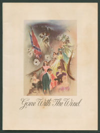 "Gone with the Wind (MGM, 1939). Program (Multiple Pages, 9"" X 12""). Academy Award Winners"