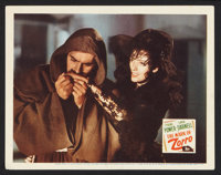 "The Mark of Zorro (20th Century Fox, R-1946). Lobby Card (11"" X 14""). Swashbuckler"