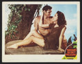 "Movie Posters:Adventure, Tarzan's Secret Treasure (MGM, R-1948). Lobby Card (11"" X 14"").Adventure.. ..."