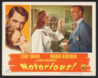 "Notorious (RKO, 1946). Lobby Card (11"" X 14""). Hitchcock"