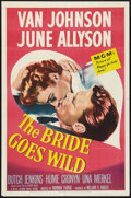 "Movie Posters:Comedy, The Bride Goes Wild (MGM, 1948). One Sheet (27"" X 41""). Comedy....."