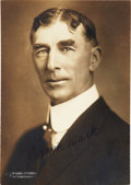 Baseball Collectibles:Photos, Connie Mack Signed Original Photograph....