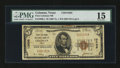 National Bank Notes:Texas, Coleman, TX - $5 1929 Ty. 1 First Coleman NB Ch. # 13595. ...