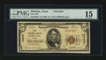 National Bank Notes:Texas, Whitney, TX - $5 1929 Ty. 1 First NB Ch. # 13649. ...