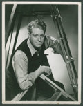 "Movie Posters:Musical, Nelson Eddy in ""Rosalie"" by Clarence Sinclair Bull (MGM, 1937).Portrait (10"" X 13""). Musical.. ..."